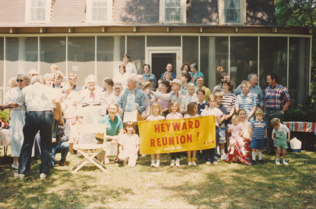 1989 reunion Heyward House