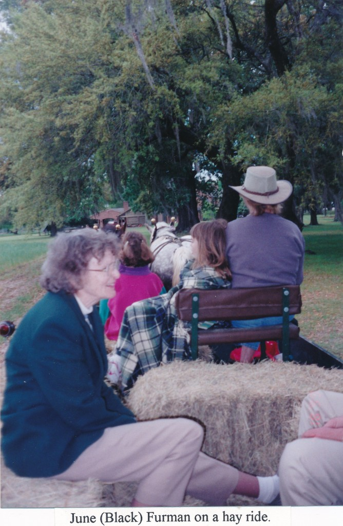 1999 Reunion - Nemours - hay ride